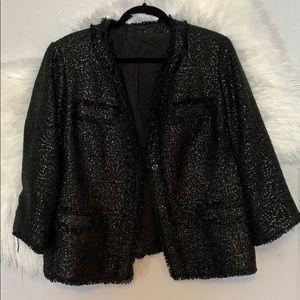 Trendy Sequin Blazer